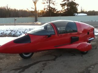 1985 Pulse Autocycle.  Rare 161 Of 347 Built.  Looks Like Airplane Great Shape photo