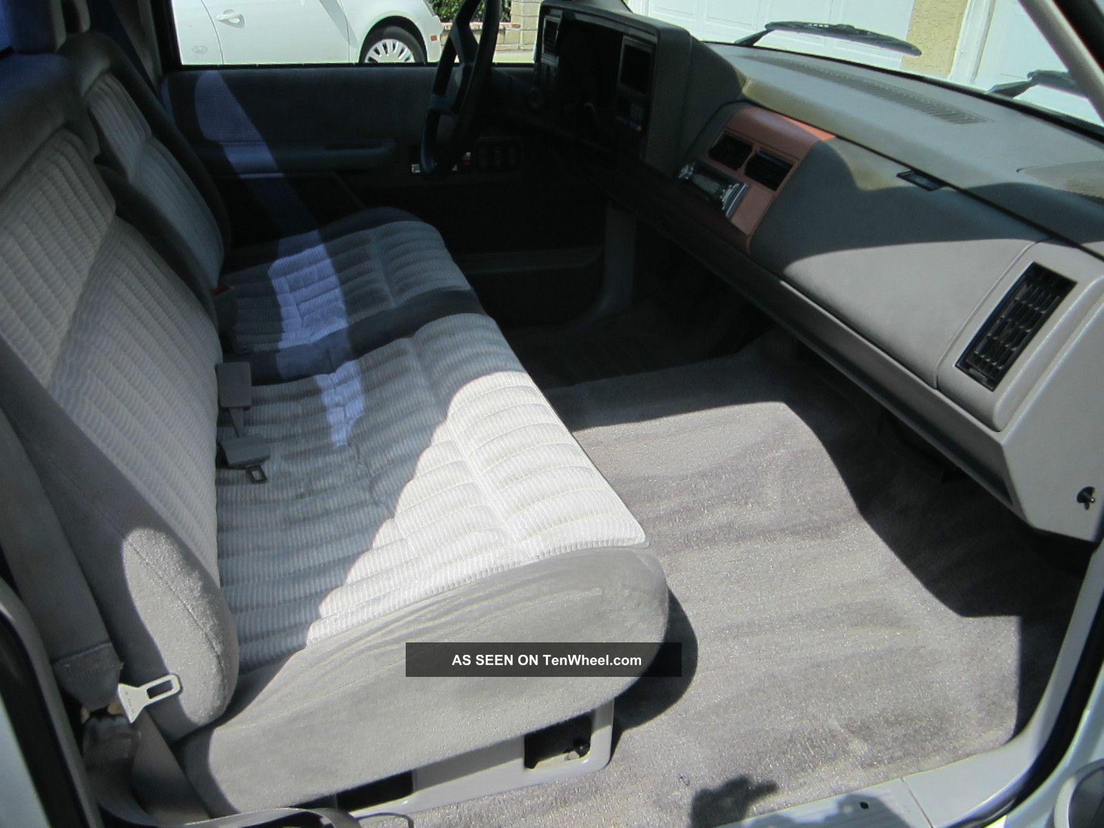 1992 Chevy Silverado Interior 1992 Chevy Silverado Short Bed