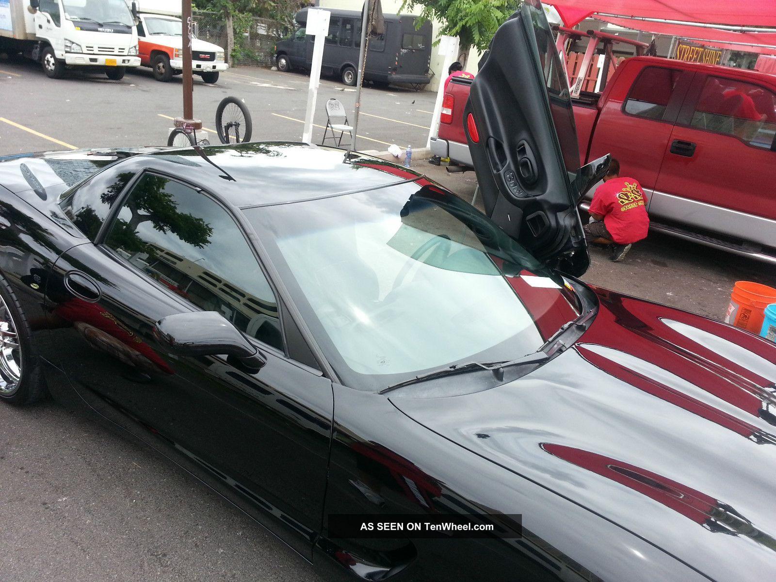 Batmobile Black Corvette With Wings Lambo Doors Custom Lgw