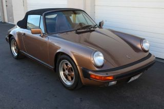 1987 Porsche 911 Carrera Cabriolet G50 photo