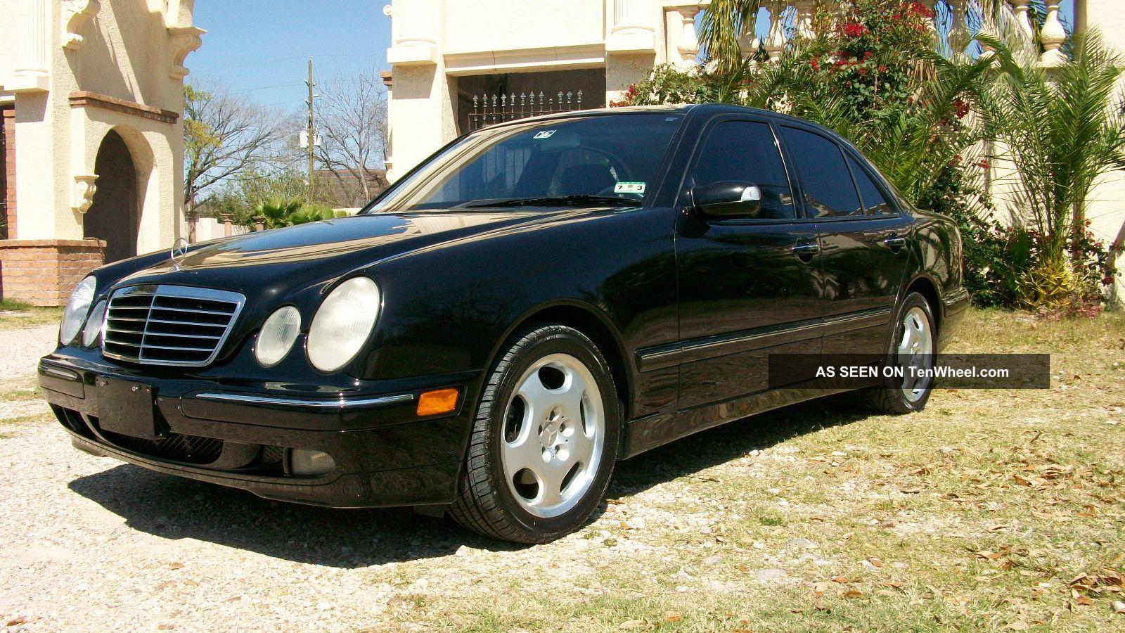 2001 mercedes benz e430 sedan 4 door 4 3l dealer serviced. Black Bedroom Furniture Sets. Home Design Ideas