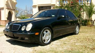 2001 Mercedes - Benz E430 Sedan 4 - Door 4.  3l Dealer Serviced photo