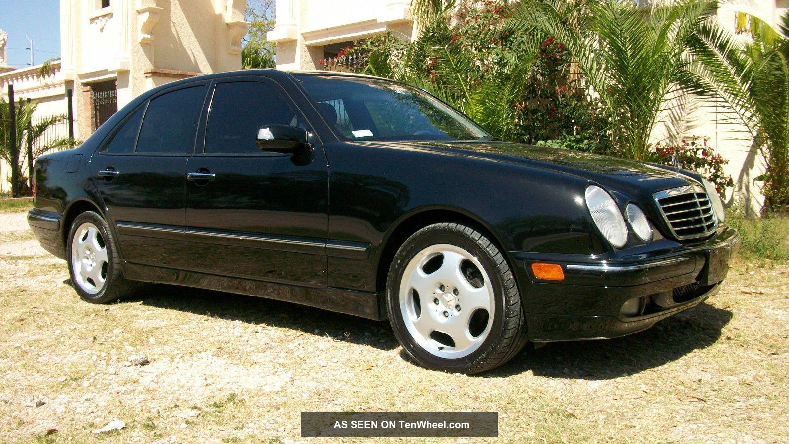 2001 Mercedes Benz E430 Sedan 4 Door 4 3l Dealer Serviced