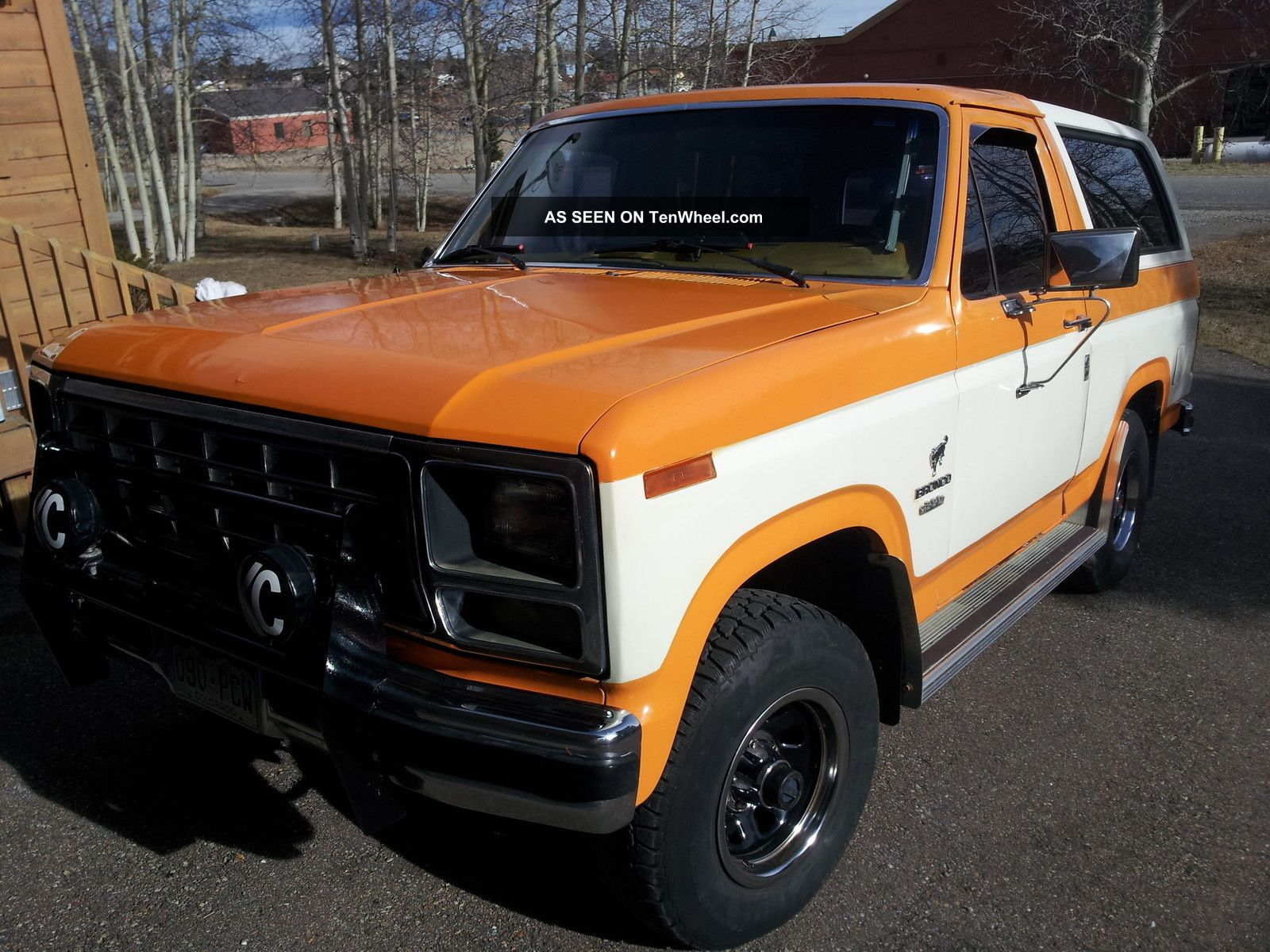 1980 ford bronco 390 big block v8 4 spd 4x4 custom
