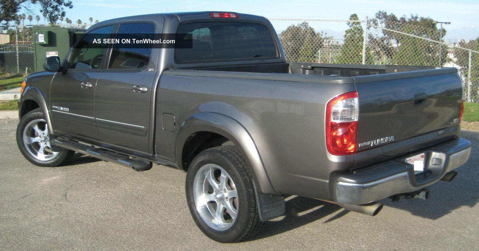 2004 toyota tundra sr5 crew cab pickup 4 door 4 7l. Black Bedroom Furniture Sets. Home Design Ideas
