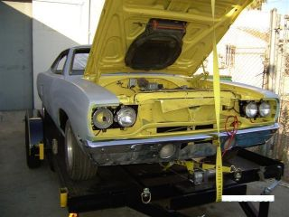 1970 Plymouth Road Runner 4speed Air Grabber Tic Tack No Rust Inter Varry Good. photo