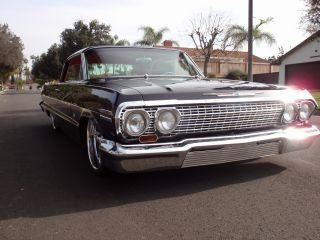 1963 Chevy Impala Ss Resto Mod Low Rod photo