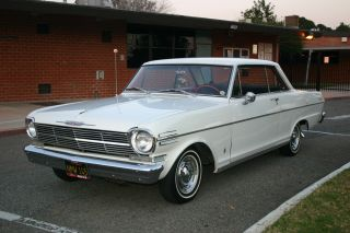 1962 Chevrolet Chevy Ii 400 Series Nova 2 Door Sport Hardtop Survivor photo