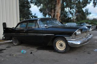 1959 Plymouth Belvedere Two Door Sedan 3 Speed Od Hot Rod Rat 59 Mopar Street photo