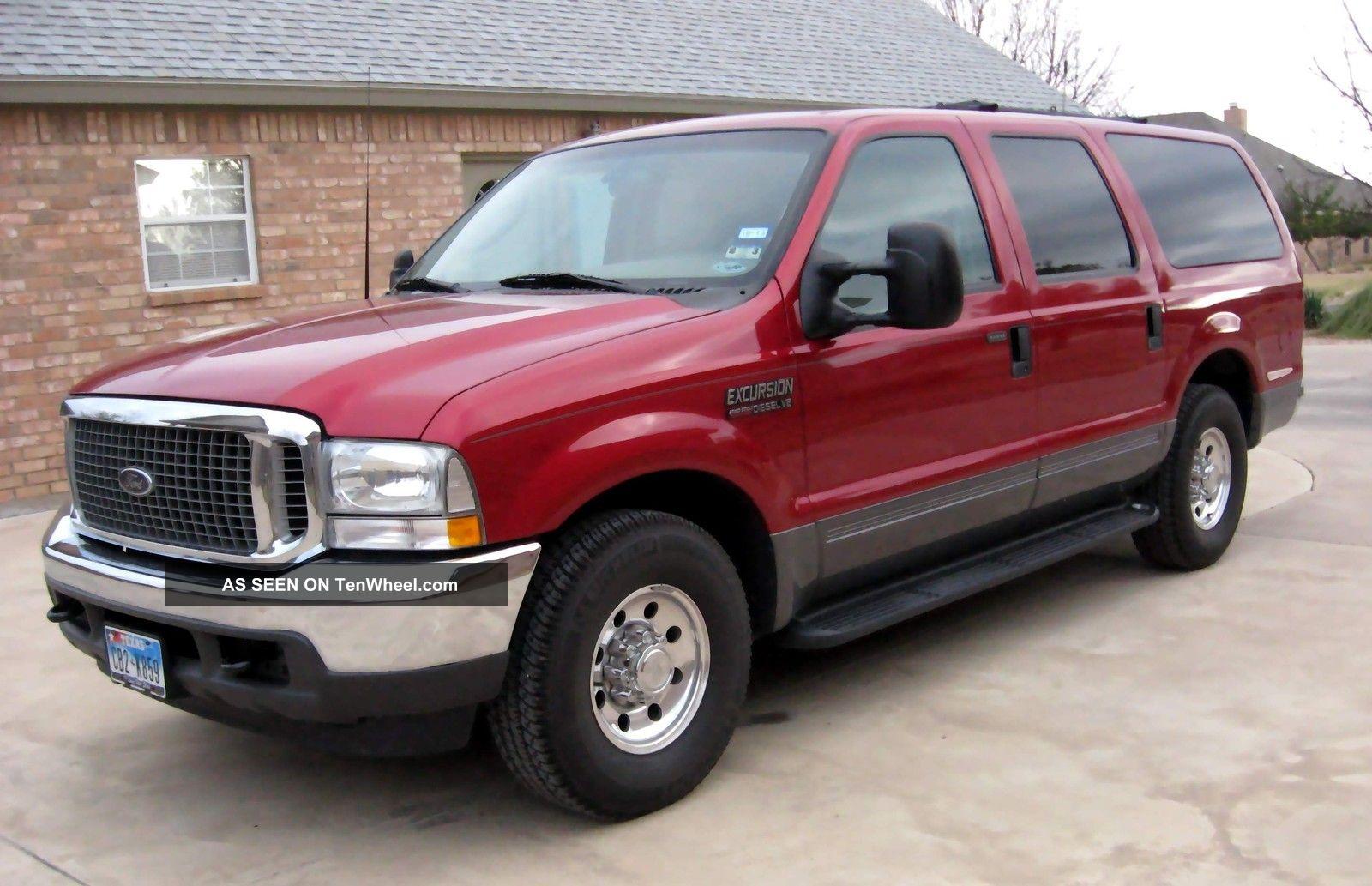 2003 Ford Excursion Xlt Premium Sport Utility 4 - Door 7 ...