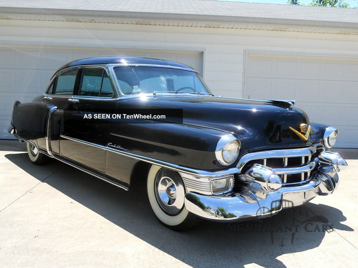 1953 cadillac 62 sedan drive it home for 1953 cadillac 4 door sedan