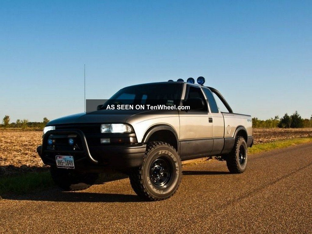 1999 chevrolet s10 ls extended cab pickup 4 3l vortec 4x4 automatic all power. Black Bedroom Furniture Sets. Home Design Ideas