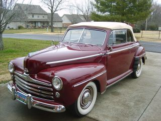 1948 Ford Deluxe Convertible Flathead V8 photo