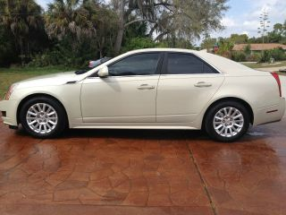 2011 Cadillac Cts Base Sedan 4 - Door 3.  0l photo