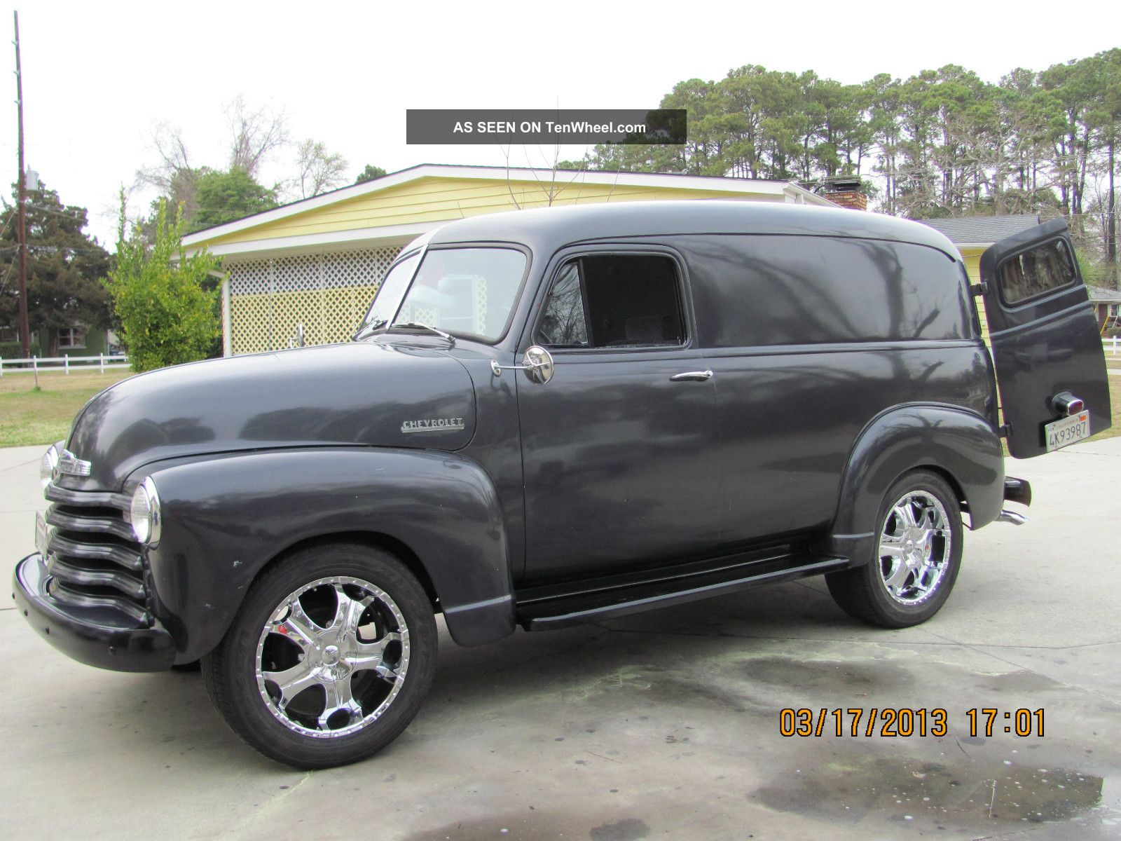 Chevy Sedan Delivery Lgw on Ford Straight 6 Engine Specs