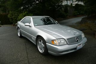 2002 Mercedes - Benz Sl500 Base Convertible 2 - Door 5.  0l photo