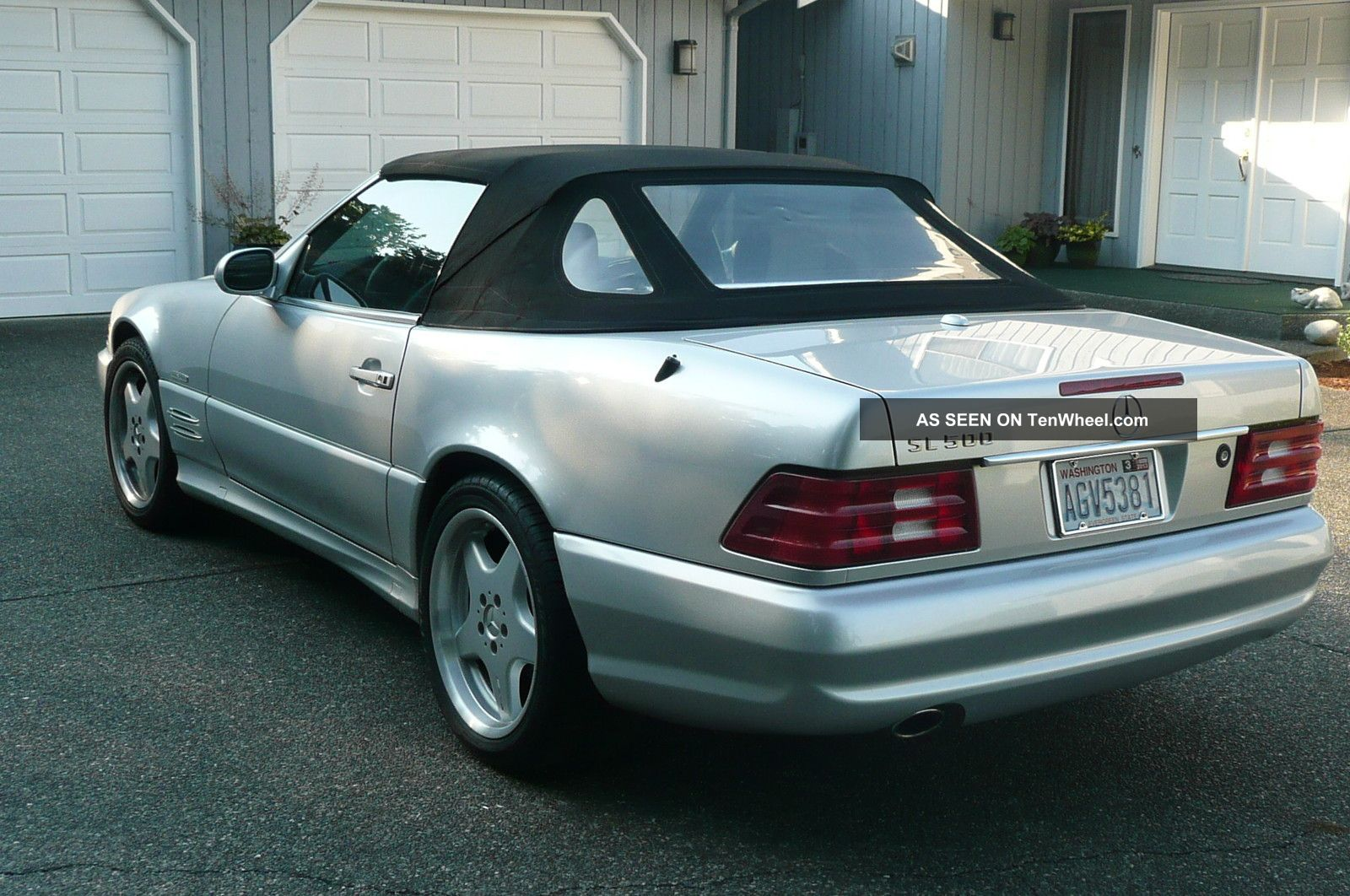 2002 Mercedes Benz Sl500 Base Convertible 2 Door 5 0l