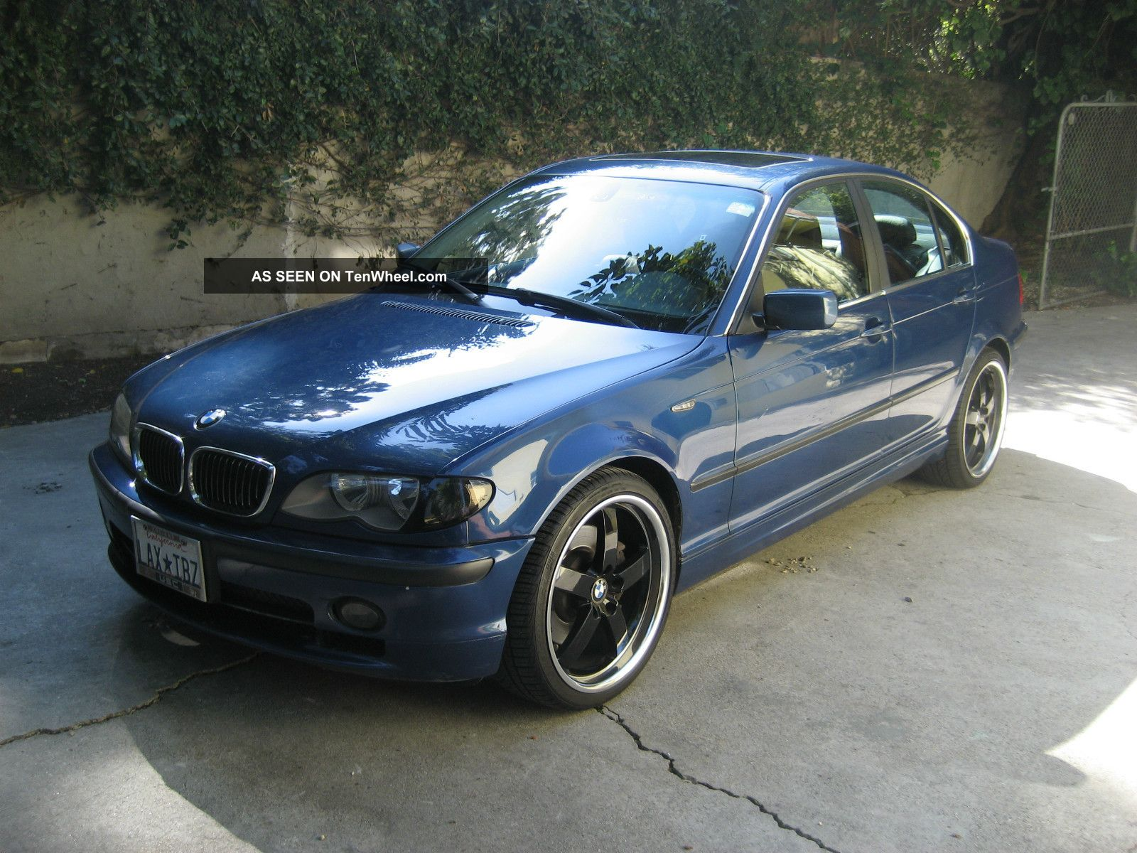 2002 Blue Bmw 330xi 3 - Series Awd / Custom 19
