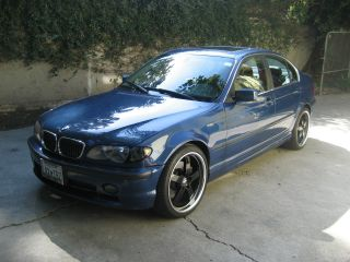 2002 Blue Bmw 330xi 3 - Series Awd / Custom 19