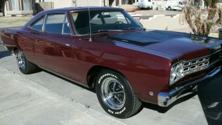 1968 Plymouth Roadrunner Numbers Matching Build Sheet Protectoplate 100%rustfree photo