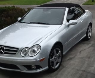 2006 Silver Mercedes Benz Clk 500 photo