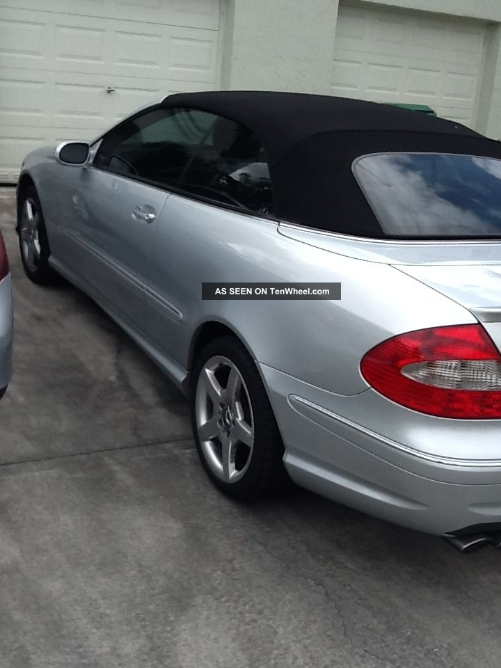 2006 Silver Mercedes Benz Clk 500