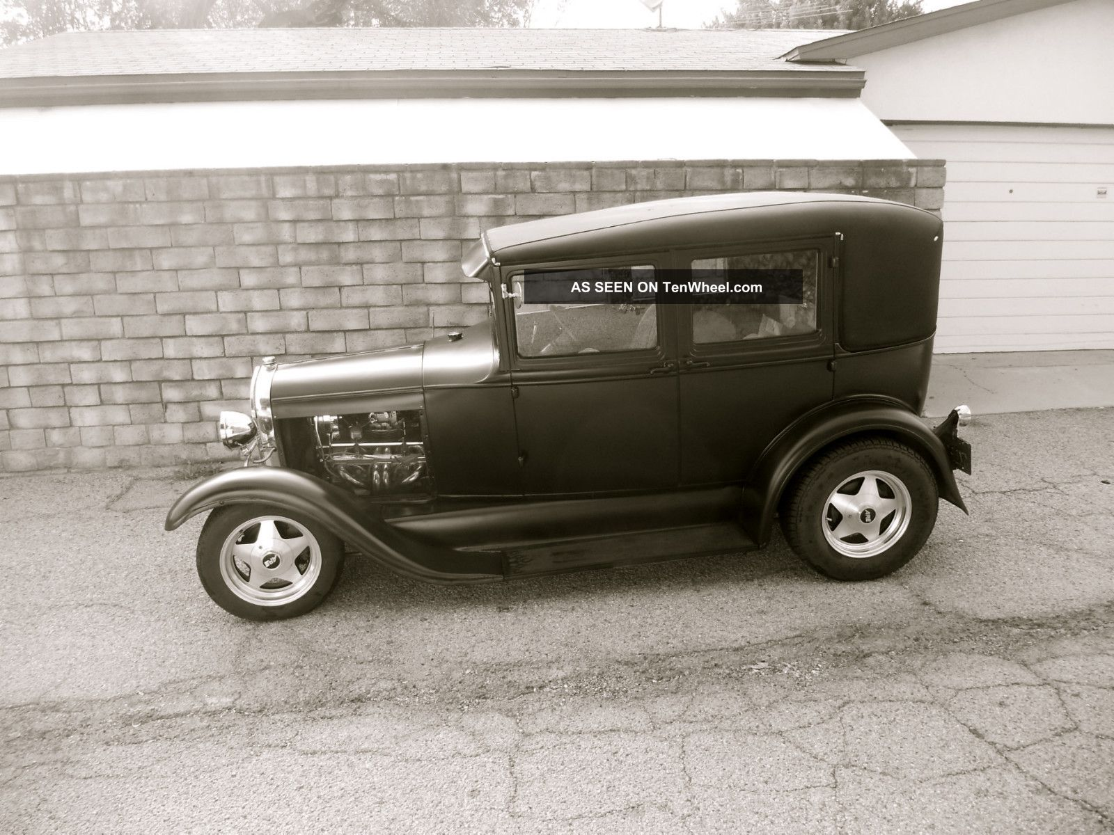 1929 ford model a 4 door sedan all steel hot rod for 1929 dodge 4 door sedan