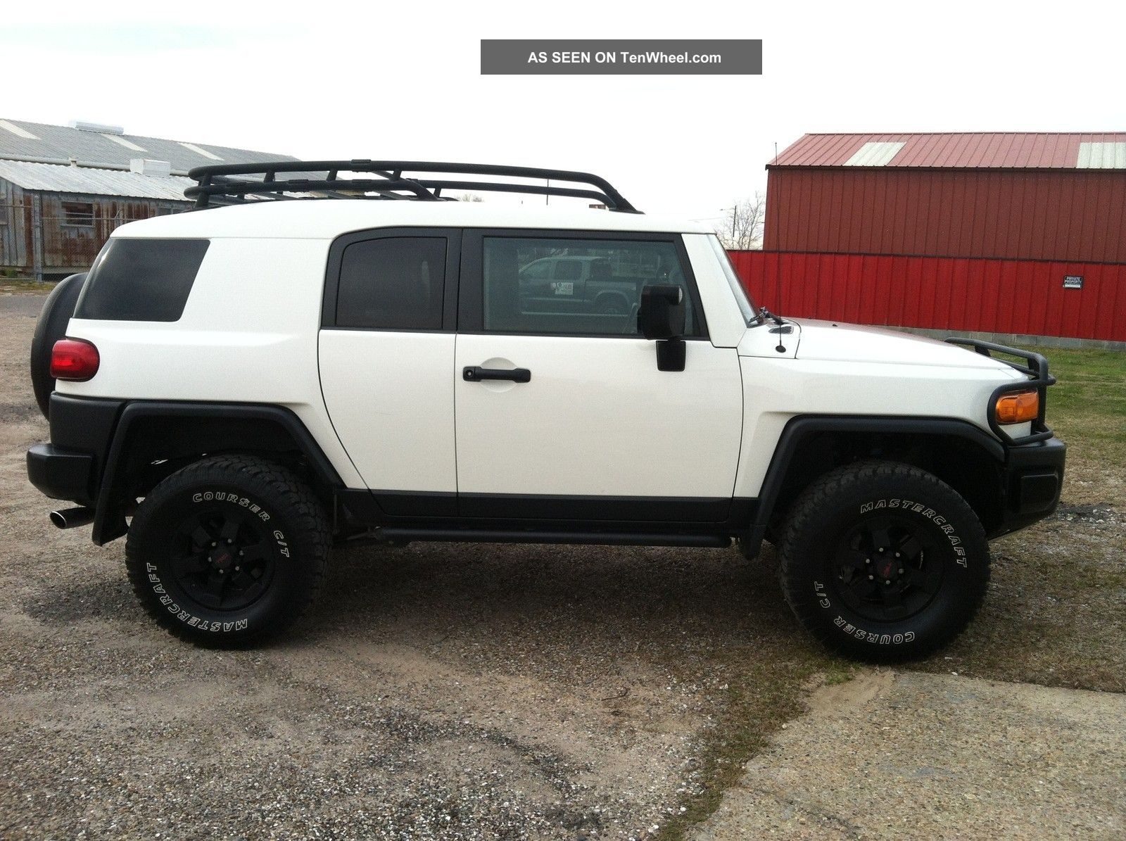 2008 toyota fj cruiser trail teams special edition sport. Black Bedroom Furniture Sets. Home Design Ideas