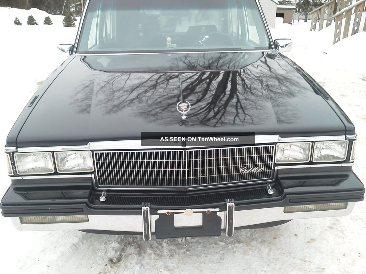 1986 Black Cadillac Fleetwood Hearse Other photo