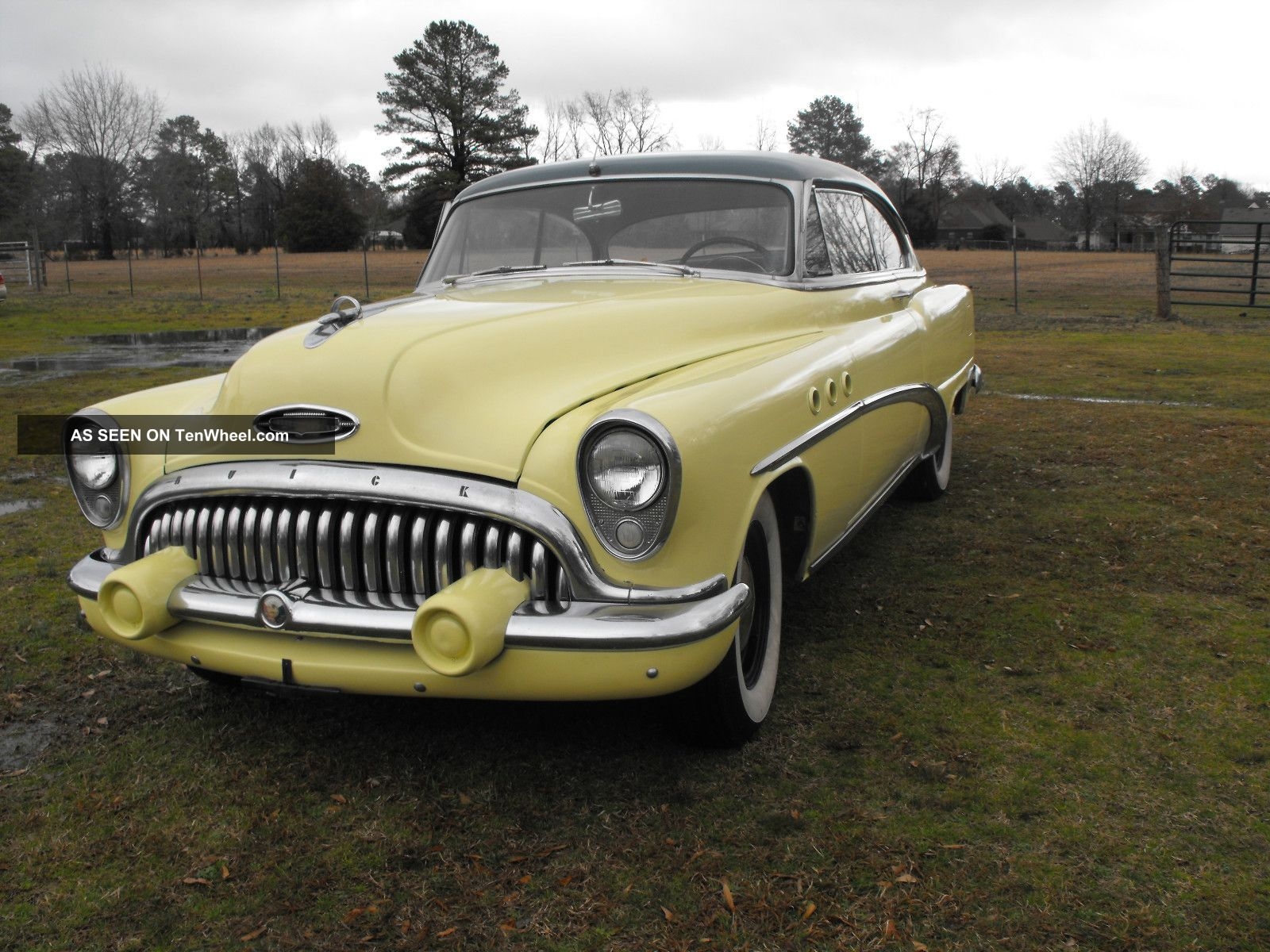 1953 Buick Special 2 Door Hardtop Strait 8 Other photo