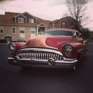 1953 Buick Riviera 2 Door Hardtop,  322 Nailhead,  Dark Red And Copper, photo