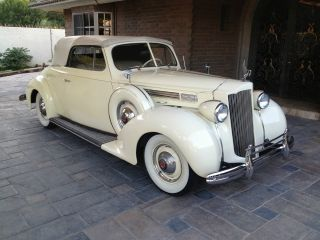 "1938 Packard ""120"" Convertible Coupe photo"