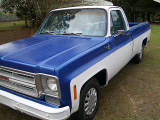 1976 Gmc Sierra 350 Engine Lwb photo