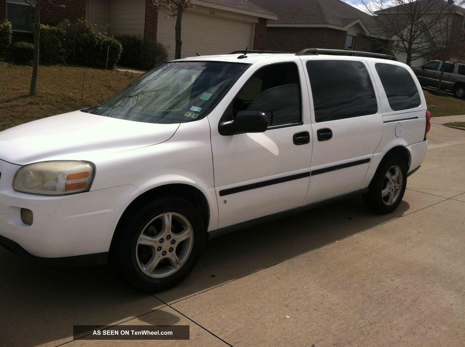 Honda Odyssey All Wheel Drive >> 2007 Chevrolet Uplander Lt Mini Passenger Van 4 - Door 3. 9l