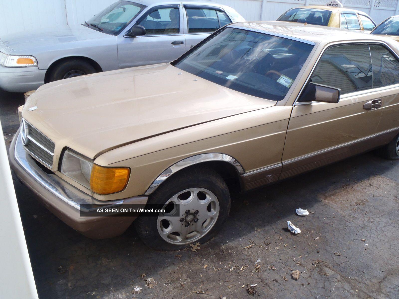 1983 mercedes benz 380 sec for Mercedes benz 1983