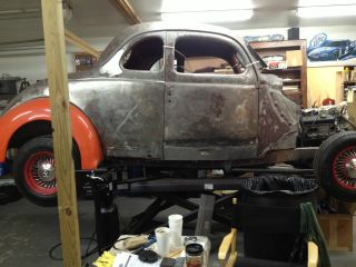1937 Ford Coupe Project Car photo