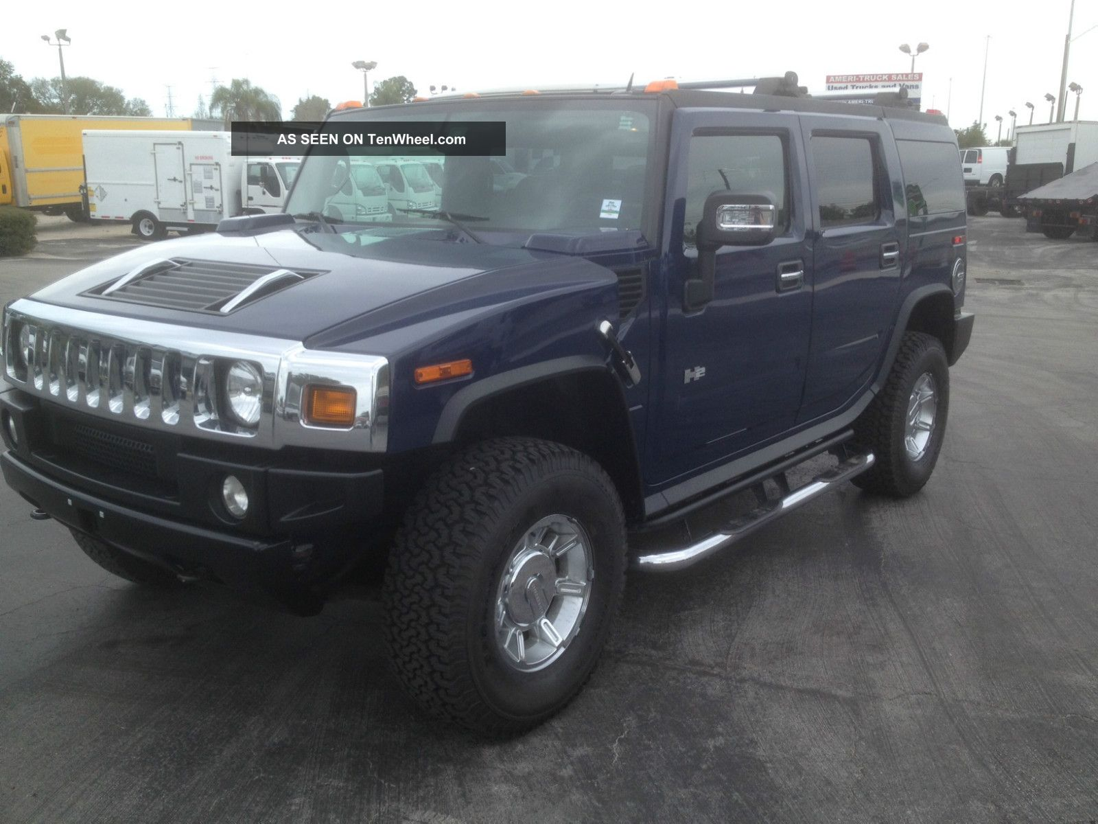 2007 hummer h2 base sport utility 4 door 6 0l. Black Bedroom Furniture Sets. Home Design Ideas