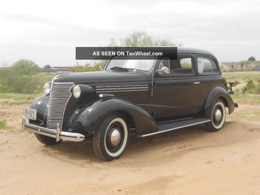 1938 chevy standard 2 door sedan 2 owners since