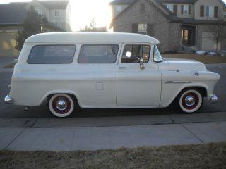 1955 Chevrolet Carryall Suburban photo