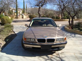 1999 Bmw 740i Base Sedan 4 - Door 4.  4l photo