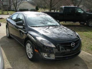 2010 Mazda 6 I Sedan 4 - Door 2.  5l Black,  Tan,  Climate Control. photo