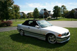 1999 Bmw M3 Base Convertible 2 - Door 3.  2l photo