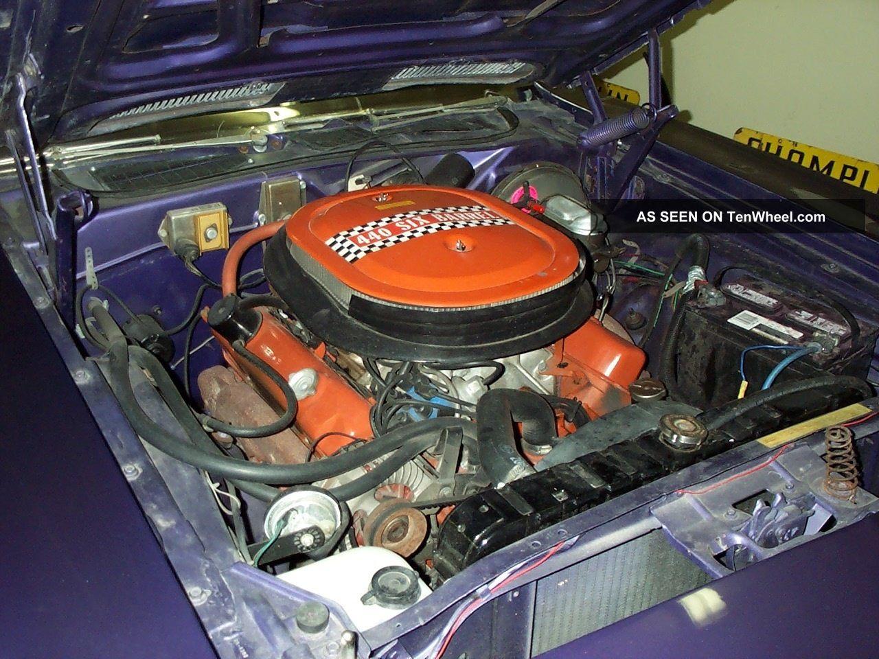 Plymouth Barracuda Convertible Cuda Clone Pistol Grip Plum Crazy Lgw