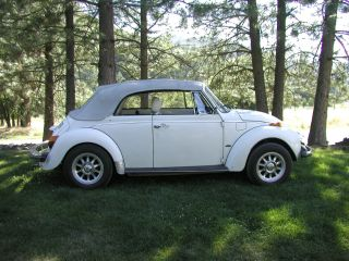 1979 Vw Beetle Convertible - - photo