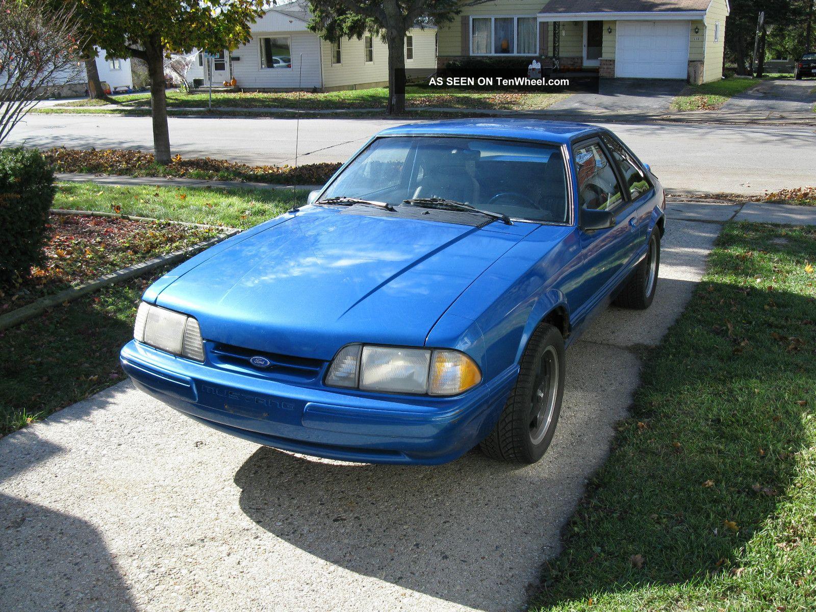 1989 Mustang Lx 5.0 Convertible Specs
