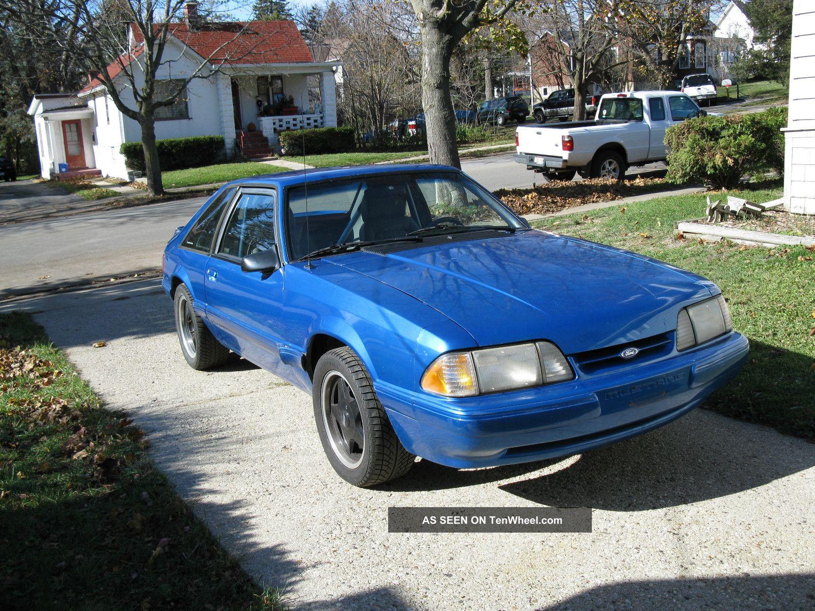 1989 ford mustang lx 5 0 l hatchback very fast. Black Bedroom Furniture Sets. Home Design Ideas