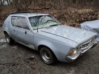 1972 Amc Gremlin X Project.  Lots Of Options photo