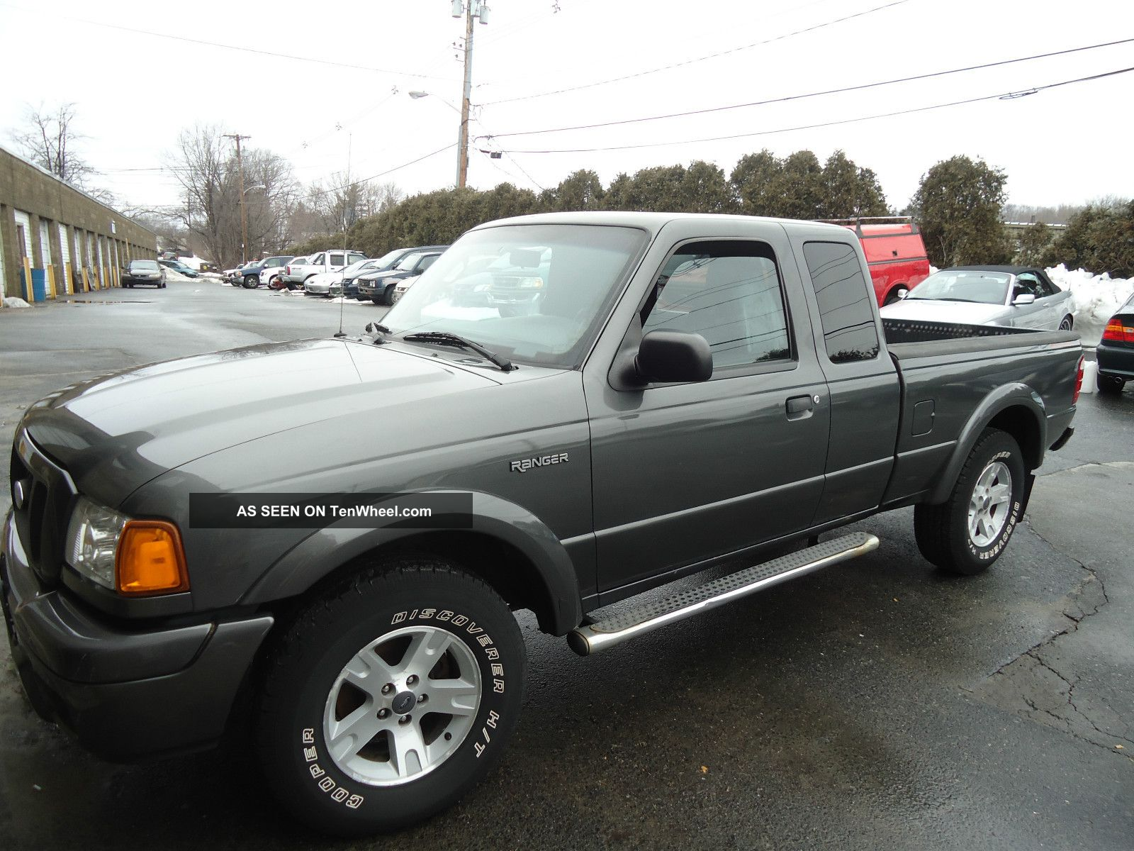 2004 ford ranger edge extended cab pickup 4 door 4 0l. Black Bedroom Furniture Sets. Home Design Ideas