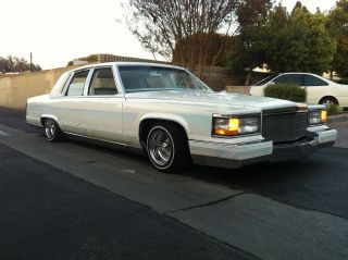 1991 Cadillac Fleetwood Brougham D ' Elegance 5.  7l Lowrider Custom Car 90 92 Euro photo