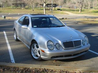 2001 Mercedes - Benz Clk55 Amg Base Coupe 2 - Door 5.  5l photo